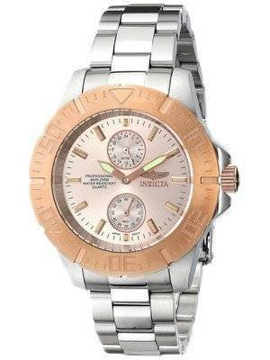 Invicta Pro Diver Rose Dial 200M 14347 Men's Watch