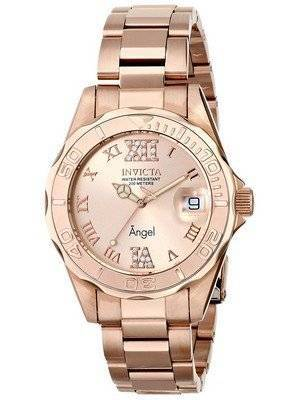 Invicta Angel Quartz Crystal Accent 200M 14398 Women's Watch