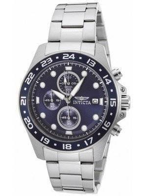 Invicta Pro Diver Chronograph Blue Dial 100M 15205 Men's Watch