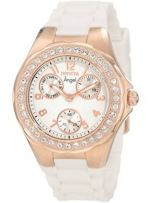Invicta Angel Jellyfish Multi-Function Crystal Accented 1646 Women's Watch