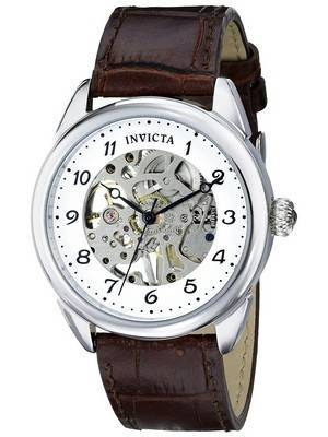 Invicta Specialty Silver Skeleton Dial 17187 Men's Watch