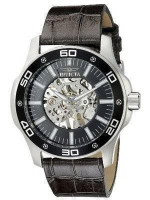 Invicta Specialty Black Skeletal Dial 17258 Men's Watch