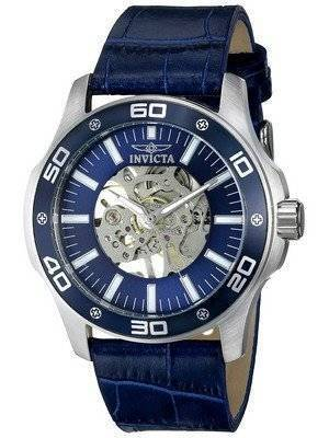 Invicta Specialty Blue Skeletal Dial 17259 Men's Watch