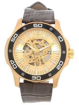 Invicta Specialty Gold Skeletal Dial 17262 Men's Watch