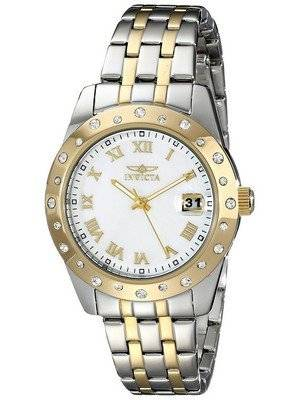 Invicta Angel Mother Of Pearl Dial Date Display 17489 Women's Watch