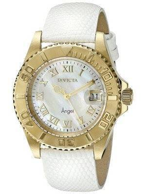 Invicta Angel Mother Of Pearl Dial Date Display 18415 Women's Watch