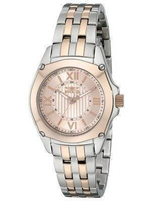 Invicta Angel Rose Gold Dial Two Tone Stainless Steel 18747 Women's Watch