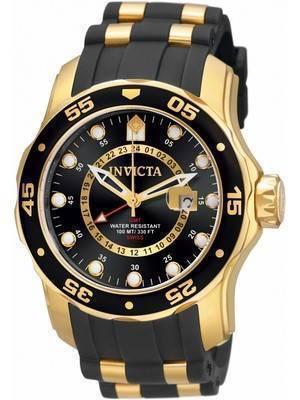 Invicta Pro Diver GMT Quartz 100M 6991 Men's Watch