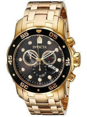 Invicta Pro Diver 200M Chronograph Charcoal Dial 80064 Men's Watch