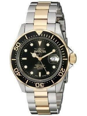 Invicta Swiss Pro Diver 200M Black Dial 9309 Men's Watch