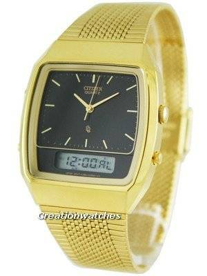 Citizen Analog-Digital Vintage Retro JM0512-57E Mens Watch