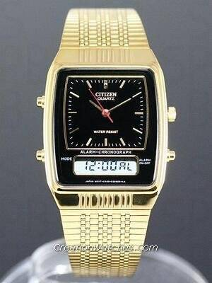 Citizen Ana-digi Vintage Retro JM0522-53E JM0522