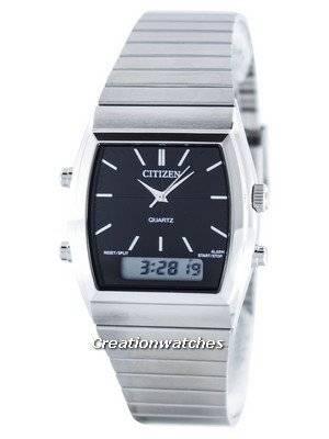 Citizen Quartz Alarm Chronograph Analog Digital JM0540-51E Men's Watch