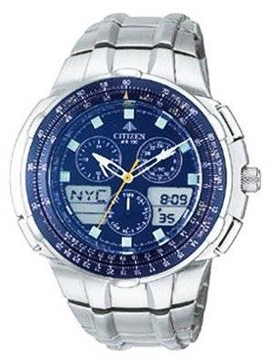 Citizen Navihawk Promaster World Time JN4000-51L JN4000 Men's Watch