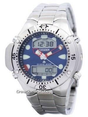 Citizen Aqualand Diver Depth Meter Promaster JP1060-52L JP1060 Men's Watch