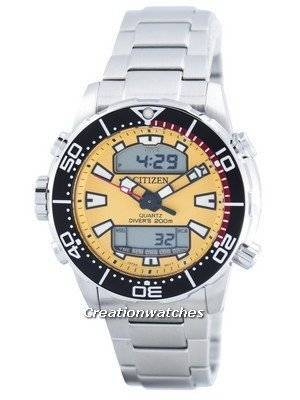 Citizen Aqualand Promaster Diver's 200M Analog Digital JP1090-86X Men's Watch