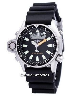 Citizen Aqualand Diver Promaster JP2000-08E JP2000 Depth Meter Men's Watch