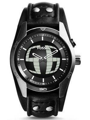 Fossil Coachman Analog-Digital Black Dial JR1472 Men's Watch