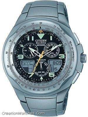Citizen Promaster Eco-Drive Skyhawk Titanium JR3060-67E / JR3060-59F Pilot's Watch