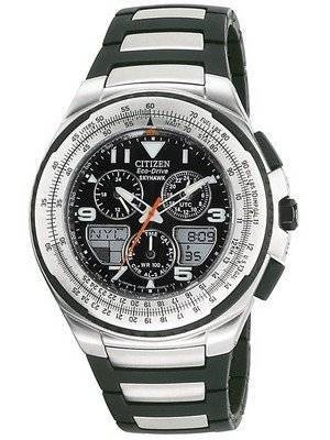 Citizen Eco-Drive Skyhawk World Time JR3125-55E Men's Watch
