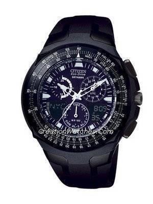 Citizen Promaster Eco Drive SkyHawk World Time Watch JR3159-53E