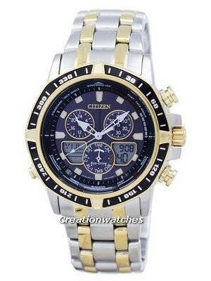 Citizen Eco-Drive Sailhawk Chronograph Analog Digital JR4054-56E Men's Watch