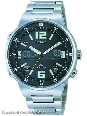 Citizen Promaster Chronograph Alarm Land JT3000-59E JT3000
