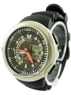 Citizen Promaster Aqualand Eco-Drive Diver's JV0007-02E Men's Watch