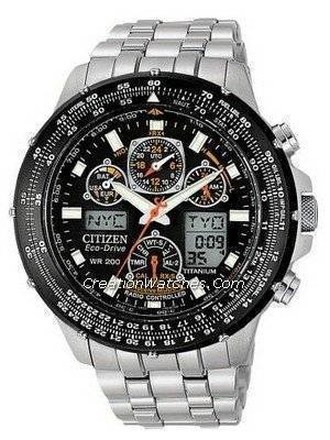 Citizen Eco-Drive Skyhawk Mens Atomic Radio Controlled JY0001-51E