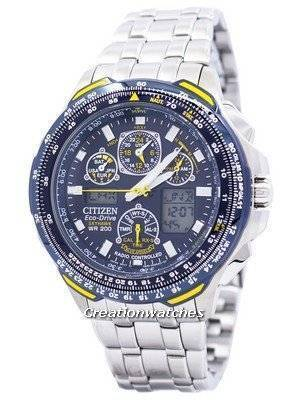 Citizen Radio-Controlled Blue Angels Skyhawk JY0040-59L JY0040 Men's Watch