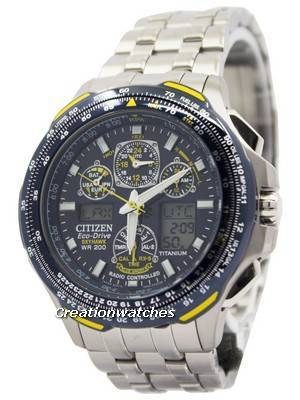 Citizen Skyhawk Eco Drive Titanium Radio Controlled JY0050-55L JY0050 Promaster Men's Watch