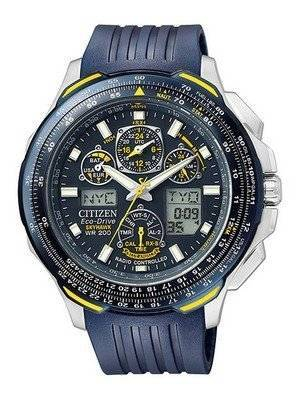Citizen Eco-Drive Radio Controlled Skyhawk JY0064-00L JY0064-00 Men's Watch