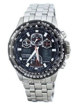 Citizen Promaster Skyhawk Titanium Eco-Drive Radio Controlled World Time JY0080-62E Men's Watch