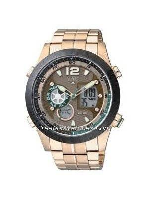Citizen Promaster Eco Drive Chronograph  World Time JZ1002-56W Men's Watch