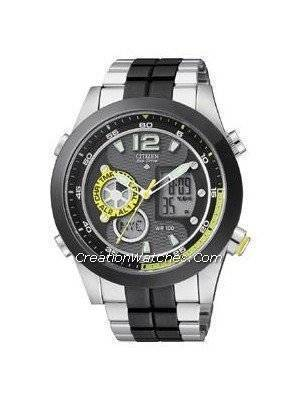 Citizen Promaster Eco Drive Chronograph  World Time JZ1005-58E