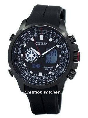 Citizen Promaster Eco-Drive Chronograph World Time JZ1065-05E Men's Watch