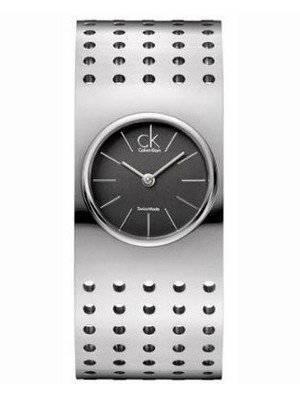 Calvin Klein Grid Quartz Swiss Made K8322107 Womens Watch