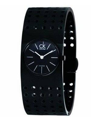 Calvin Klein Grid Quartz Swiss Made K8323302 Womens Watch