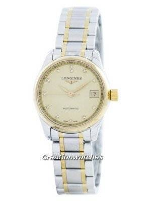 Longines Master Collection Automatic Diamond Accent L2.128.5.37.7 Women's Watch