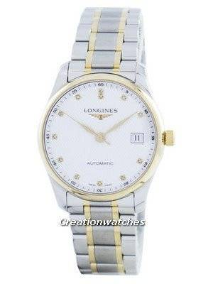 Longines Master Collection Automatic Diamond Accent L2.518.5.77.7 Men's Watch