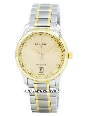 Longines Master Collection Automatic Diamond Accent L2.628.5.37.7 Men's Watch