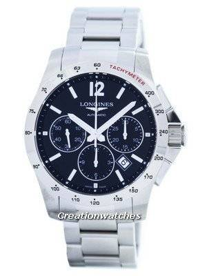 Longines Conquest Automatic Chronograph Tachymeter Scale L2.743.4.56.6 Men's Watch