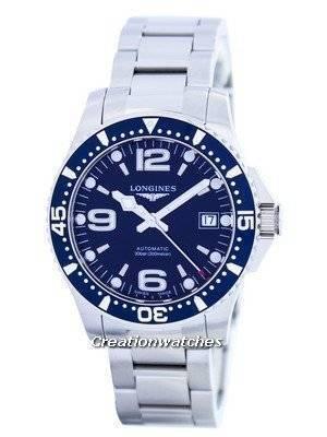 Longines HydroConquest Automatic Power Reserve L3.641.4.96.6 Men's Watch
