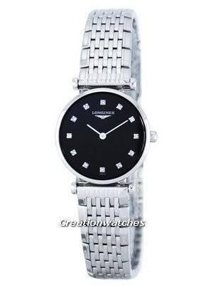 Longines Le Grande Classique Quartz Diamond Accent L4.209.4.58.6 Women's Watch