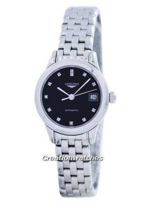 Longines La Grande Classique De Flagship Automatic Power Reserve Diamond Accent L4.274.4.57.6 Women's Watch