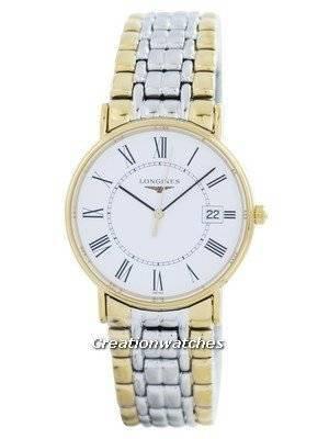Longines Presence La Grande Classique De Quartz L4.720.2.11.7 Men's Watch