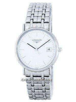 Longines Presence Quartz L4.720.4.12.6 Men's Watch