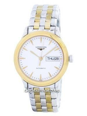 Longines Flagship Automatic Power Reserve 25 Jewels L4.799.3.22.7 Men's Watch