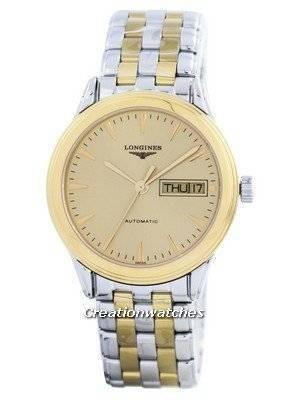 Longines Flagship Automatic Power Reserve 25 Jewels L4.799.3.32.7 Men's Watch