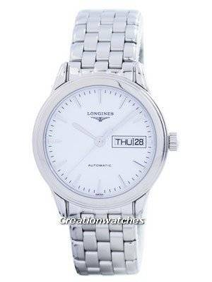 Longines Flagship Automatic Power Reserve 25 Jewels L4.799.4.12.6 Men's Watch